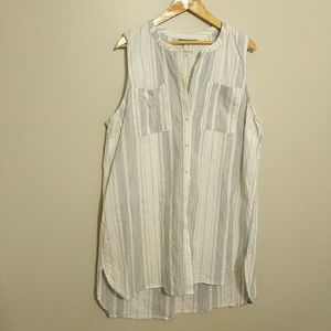 Merona Sleeveless Button Down Tunic